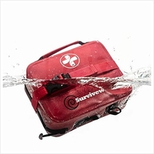 Surviveware Waterproof First Aid Kit for Kayak, Boating, Backpacking, Snow and