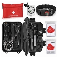 Napasa Emergency Survival Kit 54 in 1 Outdoor Survival Gear Tool and First Aid