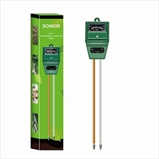 Sonkir Soil pH Meter, MS02 3-in-1 Soil Moisture/Light/pH Tester Gardening Tool