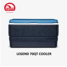 IGLOO Maxcold Legend 70 QT 66L Cooler Box with Advance Cooling