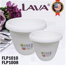 LAVA Flower Pot with Detachable Tray FLP1008 FLP1010