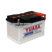 YUASA CONVENTIONAL DIN66L AUTOMOTIVE CAR BATTERY