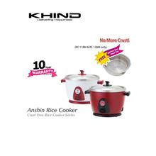 Khind AnShin Rice Cooker ( 2.8L ) RC128M Free Steam Tray