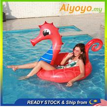 Seahorse Ride On Pool Float Swimming Pool Swimming Ring Swimming Float Baby Ki