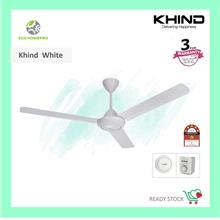 isonic/kdk/khind/maxvi 60inch 3 Blade Ceiling Fan F-m1 - [KHIND WHITE]