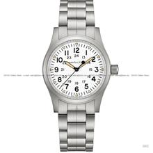 HAMILTON H69439111 Khaki Field Mechanical 38mm SS Bracelet White