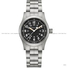 HAMILTON H69439131 Khaki Field Mechanical 38mm SS Bracelet Black