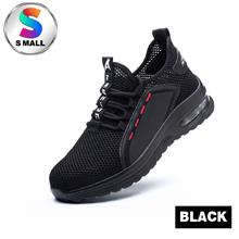 S Mall Safety Shoes Sport Shoes Wear-resistant Anti - [795 (BLACK),42]