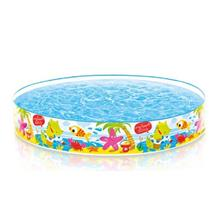 Plastic Swimming Pool For Kids (5ft / 6ft) - Int - [5 FEET (152X25CM)]
