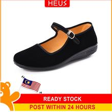 Heus Nors Flat Shoes - [BLACK,35]