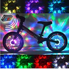 2 Packs Bike Wheel Lights,Remote Control LED Bike Wheel Hub Lights,Bike lighti