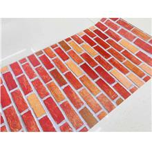 Batu 2d Wallpaper Self Adhesive Pvc Sticker Water Proof Brick - - [B1]