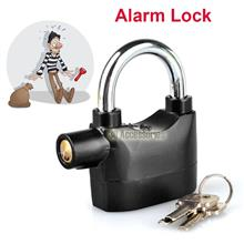 Siren Security System Door/motor Bike/bicycle Padlock 110dba Alarm Loc