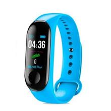 Health Smart M3 M4 M5 BLUETOOTH Smart Watch Bracelet Band - [BLUE,M3]