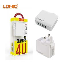 A4403 Quadruple 4 USB Output Port Auto Id USB Charger (44a) - LDNIO