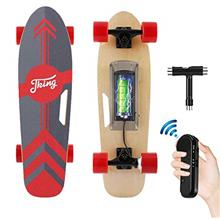 Tooluck Electric Skateboard with Remote, 350W Brushless Motor, 12MPH Top Speed