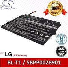 Original CS Tablet Battery Model BLT100SL LG BL-T1 / SBPP0028901