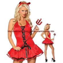 Sexy Devil Lingerie Dress Halloween Cosplay Costume YH1093