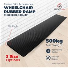 Wheelchair Rubber Threshold Ramp 90 x 20 x 3.5 cm