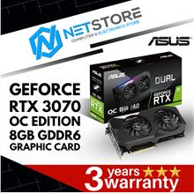 ASUS GEFORCE RTX 3070 OC EDITION 8GB GDDR6 GRAPHIC CARD