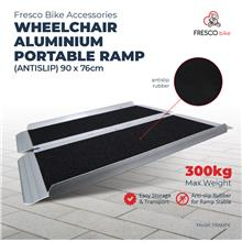 Wheelchair Aluminium Ramp Portable (Antislip) 90 X 76cm