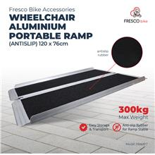 Wheelchair Aluminium Ramp Portable (Antislip) 120 X 76cm