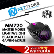 COOLER MASTER MASTERMOUSE MM720 GAMING MOUSE - MATTE BLACK
