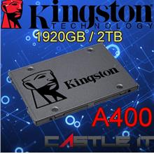KINGSTON SSD A400 1920GB 2TB SATA3 2.5' A400 Series SA400S37/1920GB