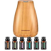 InnoGear Essential Oil Diffuser with Oils, 150ml Aromatherapy Diffuser with 6