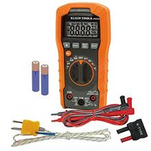 Klein Tools MM400 Multimeter, Auto Ranging Digital Electrical Tester for Tempe