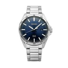 SEIKO Solar Powered Blue Dial SNE483P1 SNE483 Men Watch