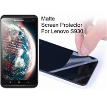 Matte/Diamon Screen Protector for Lenovo S930