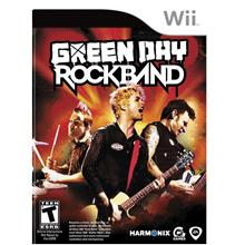 Green Day RockBand (Wii NTSC)