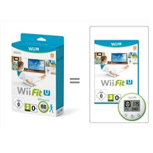 Wii Fit U Game Disc (NTSC) with Fit Meter Bundle