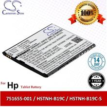 Original CS Tablet Battery Model HPT630SL HP 751655-001 / HSTNH-B19C