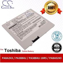 Original CS Tablet Battery TOF100SL Toshiba Regza AT100 Battery