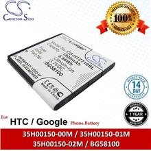 Original CS Phone Battery HTZ710SL Google G14 HTC Mytouch 4G Slide