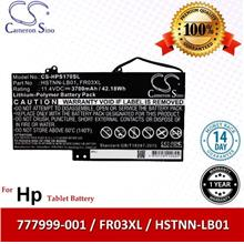 CS Tablet Battery Model HPS170SL HP 777999-001 / FR03XL / HSTNN-LB01