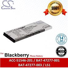 Original CS Phone Battery BRZ100XL L-S1 Blackberry BAT-47277-001