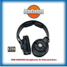 KRK KNS6400 Professional Studio Headphones FREE Sandisk 32Gb Ultra SD