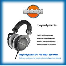 Beyerdynamic DT770 Pro 250 Ohm Studio Headphones FREE Sandisk 32Gb SD
