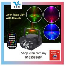 USB Laser Lampu Led Mini Stage Light Disco Light Music KTV Decoration