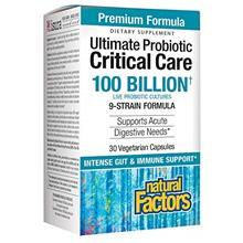 Natural Factors, Ultimate Probiotic Critical Care, Supplement to Support Diges
