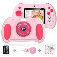 Kids Camera for Girls, Hommie Digital Video Camera Toys Gifts for Toddlers Age