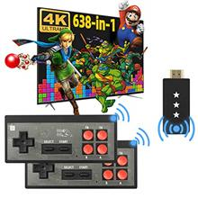 Fordim Retro Game Console,Wireless Controller,HDMI HD Output NES Game Console,