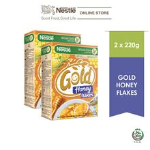 Nestle GOLD Honey Flakes 220g x 2 Box)