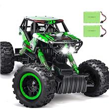 DOUBLE E RC Car 1:12 Remote Control Car Monster Trucks with Head Lights 4WD Of