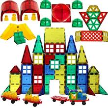 Shapemags Magnetic Blocks Building Tiles Mega Set for Kids, Building Blocks Co