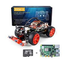 SunFounder Raspberry Pi Smart Robot Car Kit with RPi 4 Model B and SD, PiCar-S