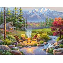 Ravensburger 16445 Riverside Kingdom 750 Piece Large Pieces Jigsaw Puzzle for